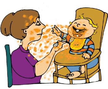 Baby Spuckt Gelben Schleim